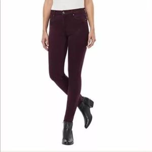 Buffalo David Bitton Plum Stretch Jeggings M13